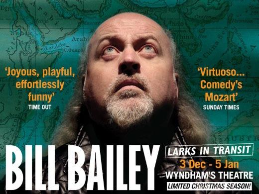 Bill Bailey - Larks in Transit, Wyndham's Theatre