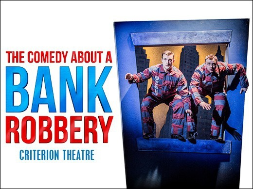 The Comedy About A Bank Robbery + 2 Course Meal with wine @ Brumus Bar & Restaurant, Haymarket Hotel-