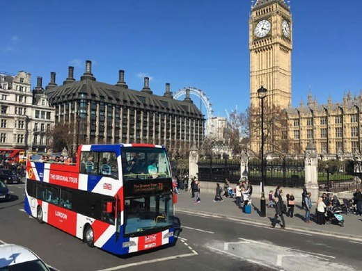 The Original London Sightseeing Tour (24hr - Any Day)
