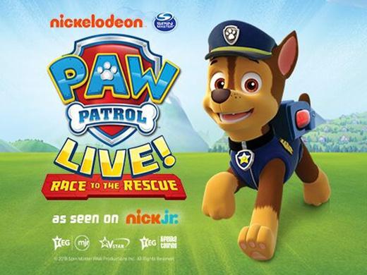 PAW PATROL LIVE! - Race to ...