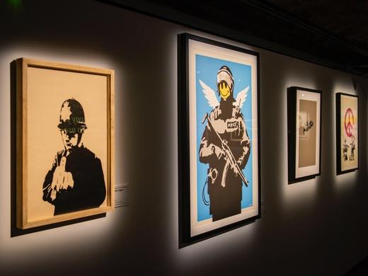 The Art of Banksy-