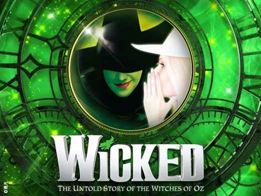 A wicked theatre play poster