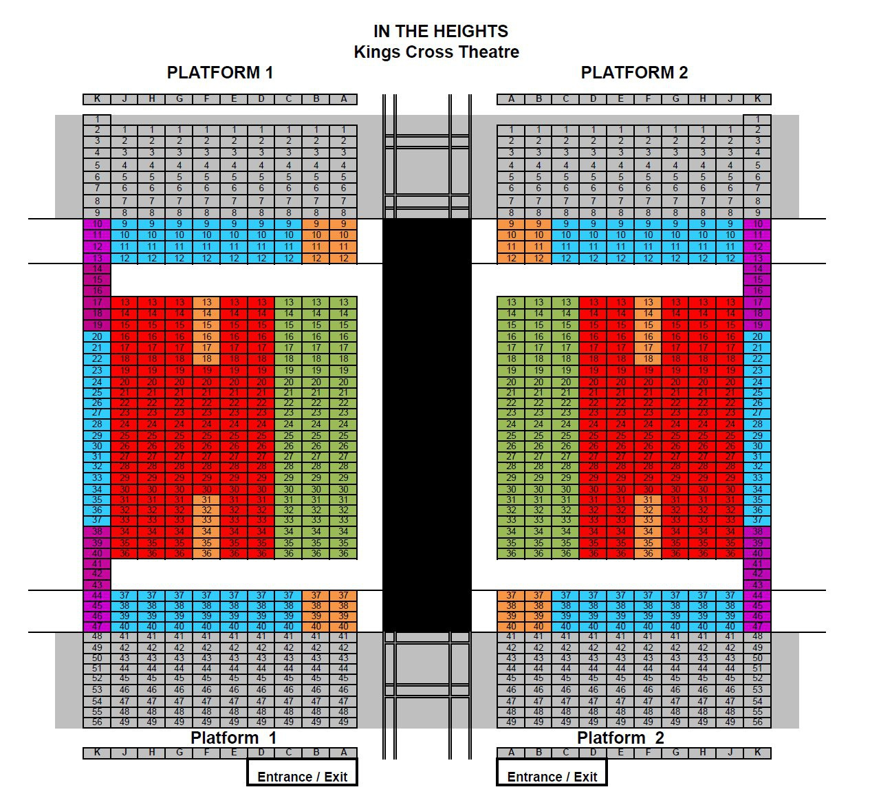 In the heights tickets london london theatre bookings - Kings cross ticket office opening times ...
