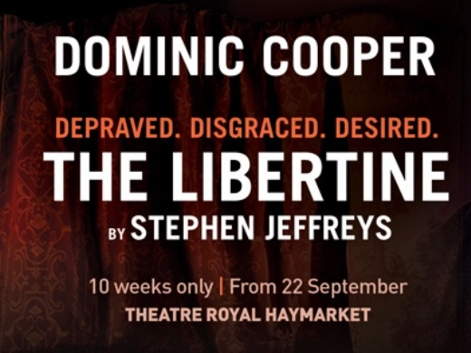 The Libertine tickets - London | From The Box Office