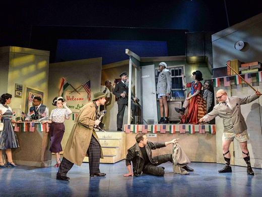 The Comedy About A Bank Robbery-