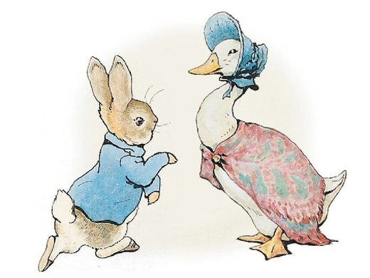 Image result for peter rabbit jemima puddle duck