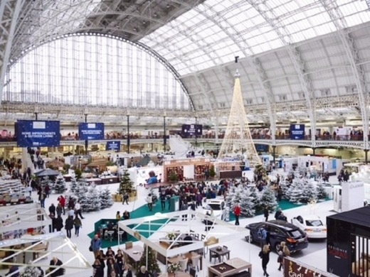 Ideal Home Show At Christmas (Manchester)