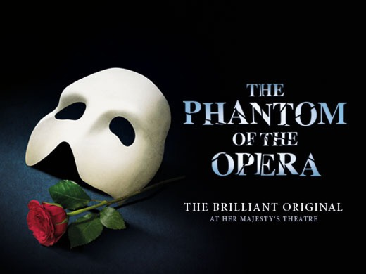 The Phantom Of The Opera with Free Meal at Planet Hollywood