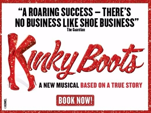Kinky Boots with free meal at Cinnamon Bazaar-