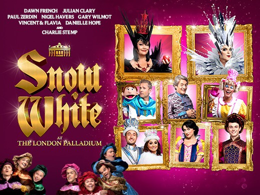 Snow White At The London Palladium-