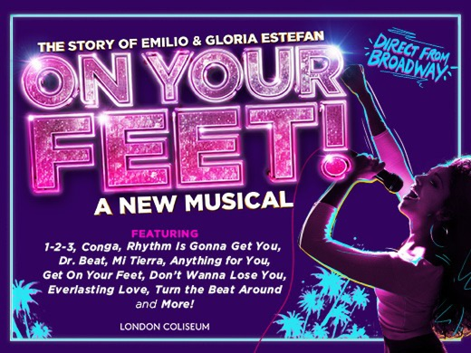 ON YOUR FEET! The Story of Emilio and Gloria Estefan#1