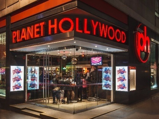 The Comedy About A Bank Robbery and Planet Hollywood meal package-