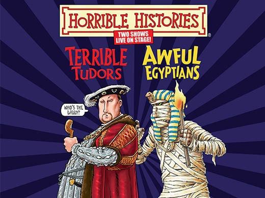Horrible Histories-Terrible Tudors