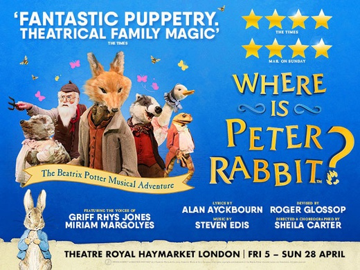 Where is Peter Rabbit? (Family Ticket)