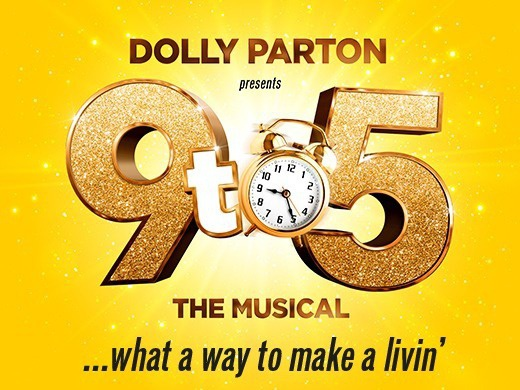 Dolly Parton presents: 9 to 5 the Musical and free afternoon tea with a glass of prosecco at Cafe Rouge-