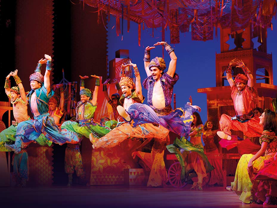 Disney's Aladdin The Musical London DI2