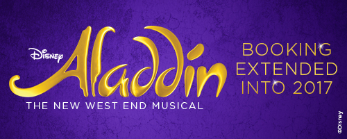 Aladdin Tickets Booking Extension Banner