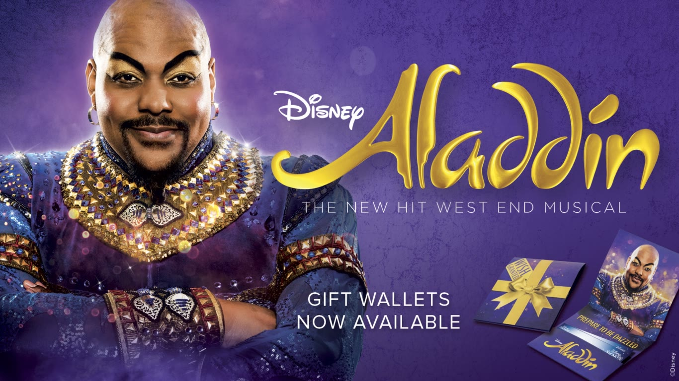 Aladdin Disney S New Musical Tickets London Disney