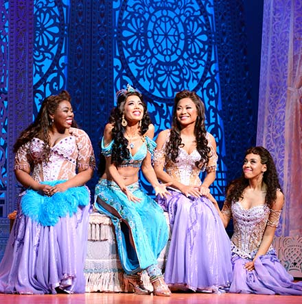 Disney's Aladdin The Musical London DI4