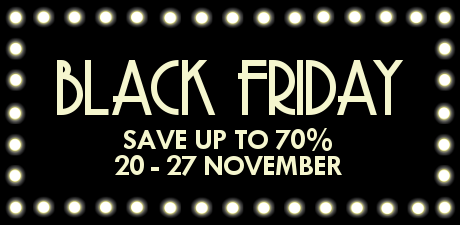 Black Friday Theatre Week- Up to 70% Off Theatre Tickets