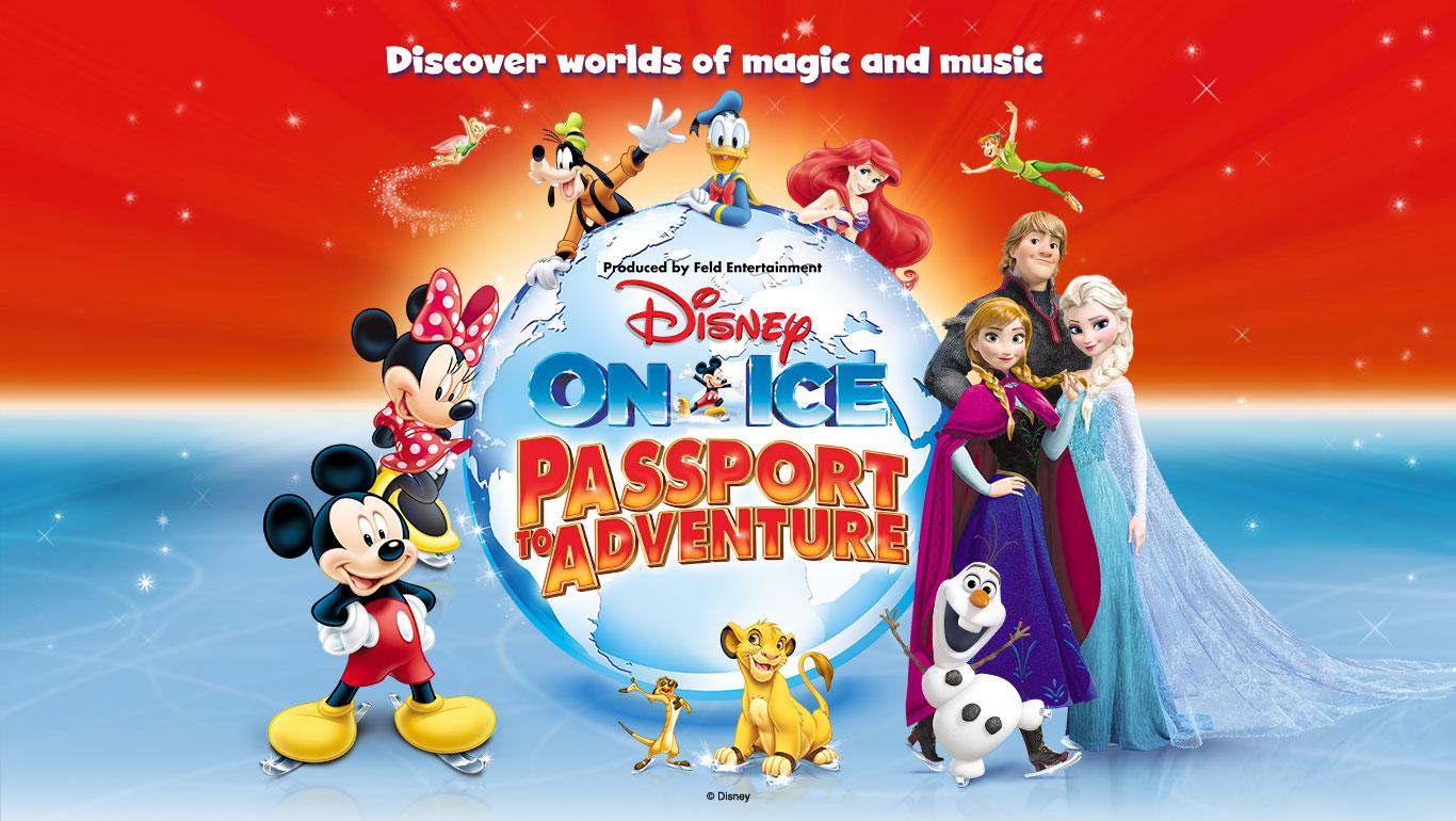 Disney On Ice Passport To Adventure Logo DHI