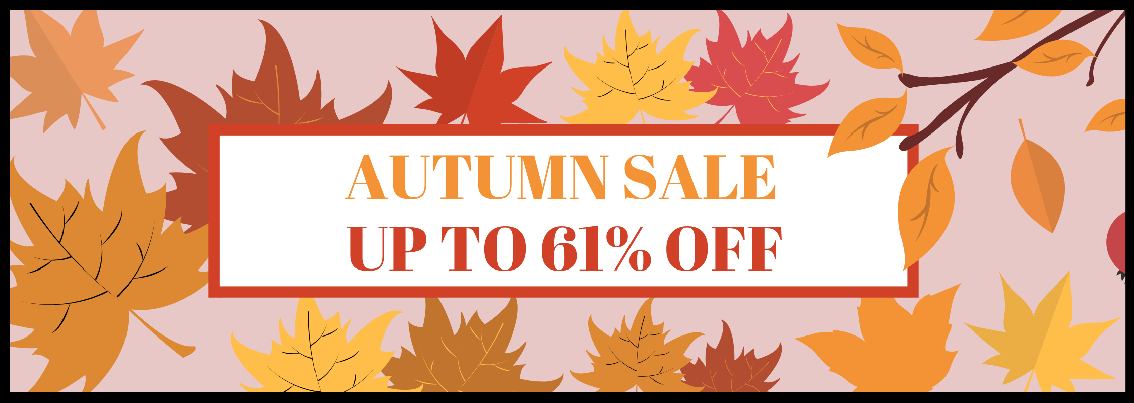 From The Box Office | Autumn Sale