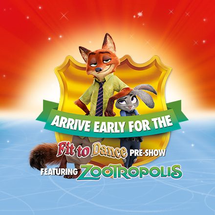Disney on Ice Fit To Dance Zootropolis