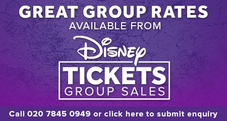 Disney Tickets Aladdin Group Bookings