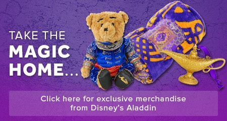 Disney's Aladdin The Musical London Merchandise