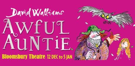 David Walliams Awful Auntie Tickets