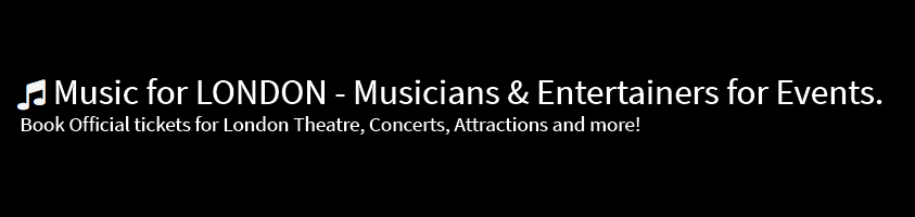 Music For London - Theatre Tickets Logo